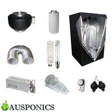 600W MAGNETIC BALLAST/HPS+MH/Cooltube/Ducting/Fan/Filter/Tent (1.2x1.2x2M) Kit