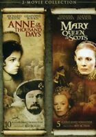 Anne of the Thousand Days / Mary Queen of Scots [New DVD] Dolby, Slipsleeve Pa