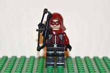 Custom DC Comics Arsenal minifigure Superhero JLA Young Justice Red Arrow CW