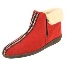 Pantofole da donna rosso Rohde