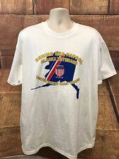 United States Coast Guard Bearing Sea Patrol Alaska Veterans White T Shirt XL