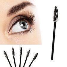 10 Pcs Disposable Eyelash Mini Brush Mascara Wands Applicator Spoolers Makeup