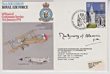 Pristine, Field Marshal Bernard M. Montgomery Signed, British Postal Cover, 1974