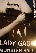 Lady Gaga Production Tour Book Monster Ball WHILE SUPPLIES LAST!