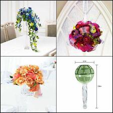 """New Gala Bouquet Holder 3.125"""" x 7.25 Crystal Acrylic Handle w/ Dry Floral Foam!"""