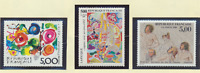 France Stamps Scott #2135//2161, Mint Never Hinged, 10 Different 1988-9 Issues