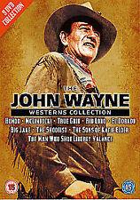 The John Wayne Westerns Collection (DVD, 2009, 9-Disc Set, Box Set)