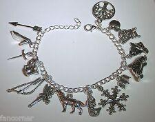 Once Upon A Time bracelet 15 breloques symboles serie OUAT charms bracelet