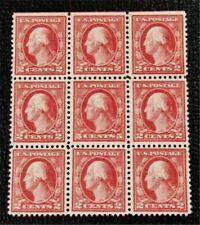 nystamps US Block Stamp # 505 Mint OG H $350 Block Of 9