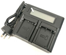 Fast LCD Battery Charger for Fuji NP-W126 BC-W126 XT2 X-T1 X-M1 X-A3 X-A10 X100F