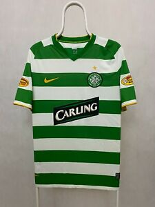 CELTIC FC 2008 2010 HOME NIKE FOOTBALL SHIRT SOCCER JERSEY SIZE L