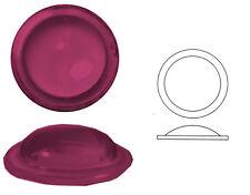 Bleiverglasungstein Bullauge glatt, 1 Stk., rund, Ø ca. 20 mm, h ca. 8 mm.