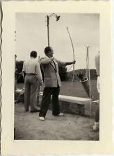 PHOTO ANCIENNE - VINTAGE SNAPSHOT - SPORT TIR À L'ARC LOISIRS - ARCHERY 1953 3