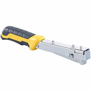 AGT Hammertacker mit Stahl-Gehäuse, für Heftklammern 10,6 - 11,3 mm Breite