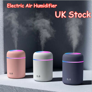 300ml Aroma Essential Oil Diffuser Portable Air Humidifier USB Mist Purifier