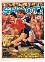 SHOOT football magazine FRONT COVER picture – VARIOUS Teams (Lot 04)