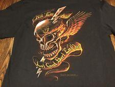 Vintage Emblem Tee T Shirt L Large Military new old stock surplus Army Marine