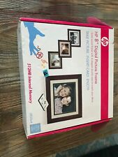 """HP 8"""" Digital Solid Wood Picture Frame - DF820B4"""