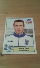 N°273 NIKOLAOS NIOPLIAS # HELLAS PANINI USA 94 WORLD CUP ORIGINAL 1994