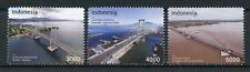 Indonesia 2018 MNH Bridges Bridge 3v Set Architecture Stamps