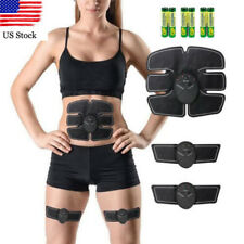 Muscle Toner Abdominal Toning Belt EMS ABS Trainer Wireless Gym Body Workout