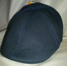 #22 Gents Blue Paperboy Hat/Cap  Size Small 2 Purple Lines on Back NWOT