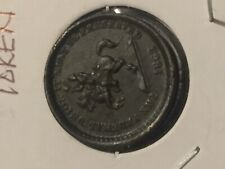 1863 - Union Must Be Preserved/Our Union Civil War Token Great Details Coin