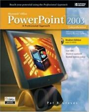 Microsoft Office 2003 PowerPoint : A Professional Approach,-ExLibrary