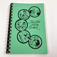 Vintage 1980s Community Cookbook Las Vegas Towne Club Recipe Collection