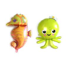 Sea World Foil Balloon Fish Inflatable Toys Party Balloons Birthday Decor Toy FG