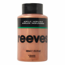 Reeves Acrylic Paint Bronze 400 Ml