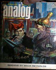 ANALOG MAGAZINE SIGNED BY KELLY FREAS 1965/12 GOOD MACK REYNOLDS