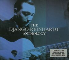 THE DJANGO REINHARDT ANTHOLOGY - 2 CD BOX SET - DINAH, SWEET SUE & MORE