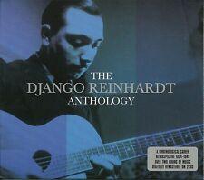 THE DJANGO REINHARDT ANTHOLOGY - 2 CD BOX SET - DINAH, SWEET SUE & MORE
