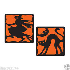 8 HALLOWEEN Decoration Vintage Beistle 1928 Reproduction DRINK Bar COASTERS