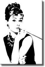 """Audrey Hepburn.. Pop Art Retro Caja De Lona De 20 """"x30"""""""