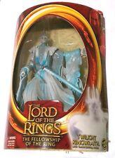 "TWILIGHT RINGWRAITH Lord Rings Fellowship Ring Toy Biz 7"" Action Figure LOTR NIP"