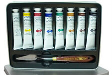 Winsor & Newton Artists Quality Oil Colour Limited Edition Tin - 8 x 21ml