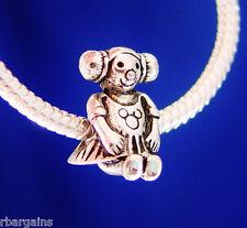 Girl Daughter Little Niece Friend Silver European Charm Bead fit for bracelet