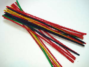 Pipe Cleaners for Vintage Pipes - 25 Pcs Colourful - Nip - 32004