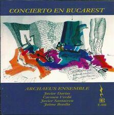 Concerito en Bucarest (CD, Aug-2014, EMEC (Editorial de Musica Espanola)) NEW!