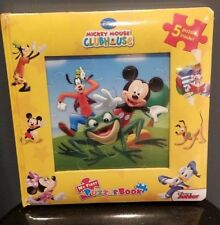 DISNEY MICKEY MOUSE CLUBHOUSE MY FIRST PUZZLE BOOK -NEW