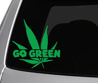 405 918 Green Country Oklahoma marijuana Weed Decal Vinyl Sticker car funny