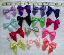"""3"""" (W) MIX 15 Multi Color Large Satin Ribbon Bows,Hair -15 pcs (R0046MA)"""