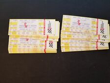 Lot Of 30 Imsa Camel Gt Series Pole Day + Race Day Full Tickets October 1-2 1993