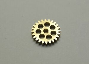 """24 Tooth drive gear, for AFX, TJET alum. top plate by Pro-Track """"PLEASE READ"""""""
