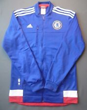 5+/5 Adidas Men Chelsea FC Anthem 2015~2016 Track Top Jackets ADIDAS AA1656