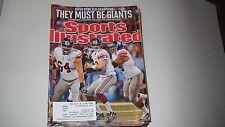 Eli Manning & Giants win Superbowl -Sports Illustrated- 2/13/2012