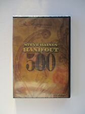 Paul Harris Presents Steve Haynes' Hand Out 500 money magic DVD & materials