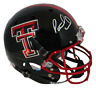 PATRICK MAHOMES AUTOGRAPHED SIGNED TEXAS TECH RED RAIDERS FULL SIZE HELMET JSA